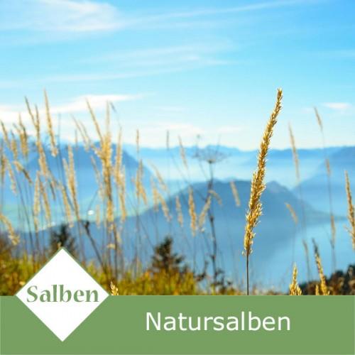 Natursalben zur Heilungsunterstützung
